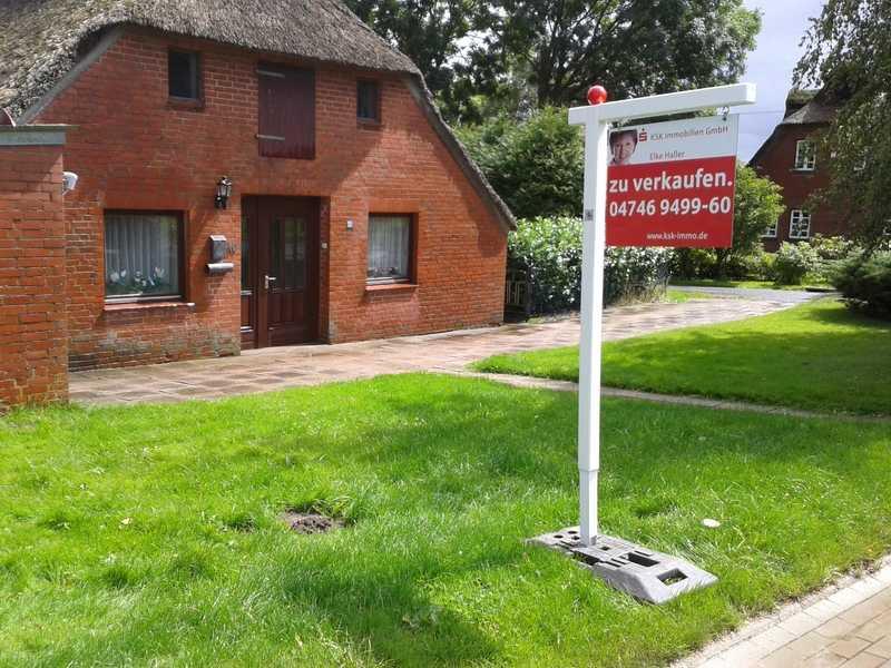 Maklergalgen zur miete immobilienwerbung ahrendt