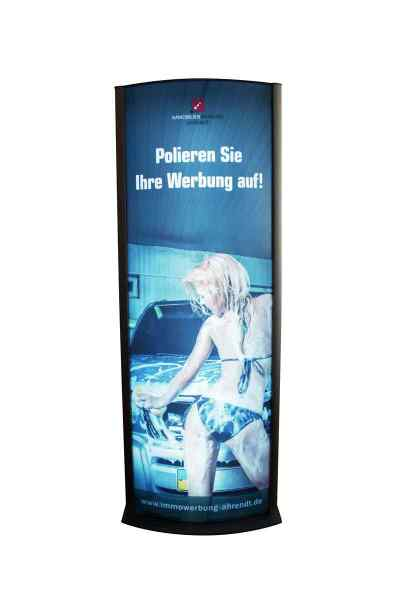 Backlit-Plakat für Leuchtpylon