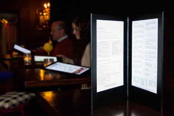LED-Speisekarten