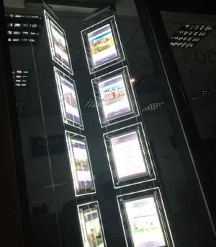 LED Light Panels Core rotierend