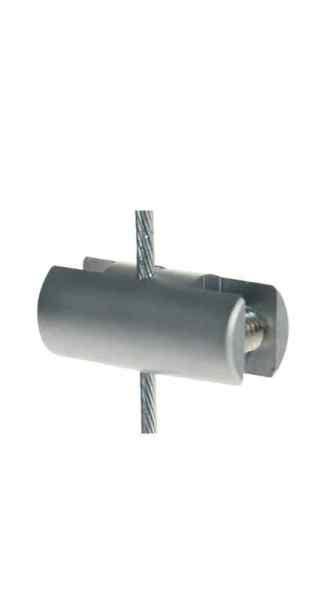 Doppelseitige Klemme für 1,5 mm Seil