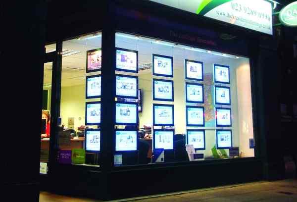 LED Light Panels Framed