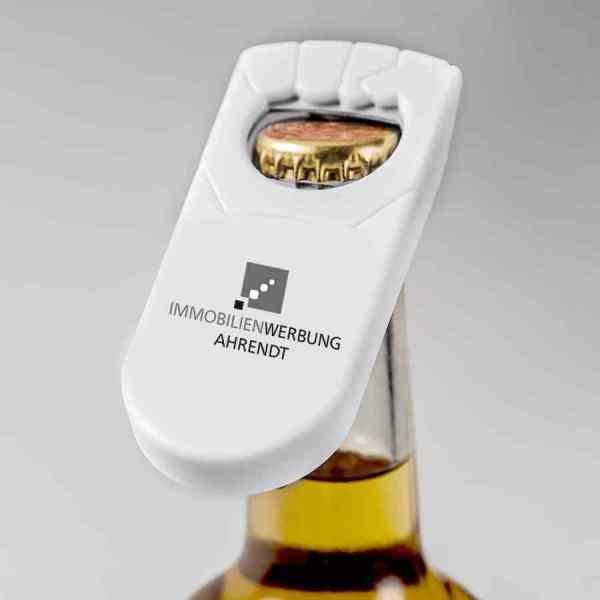 Handlicher Flaschenöffner (einfarbig 1c)