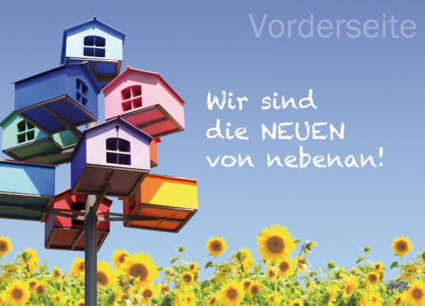 Aktions-Postkarten - Die Neuen