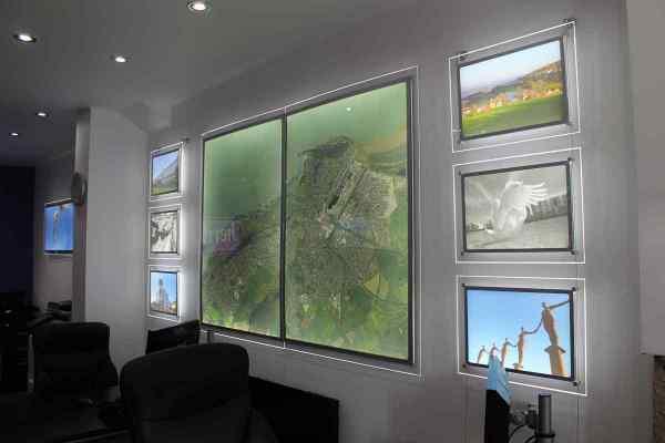 LED Light Panels Core Wandmontage
